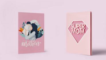 pink mothers card